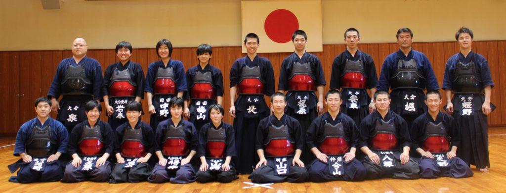 大分県代表少年男女